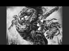 Zeichnung von Krieg aus Darksiders von Andreas Stadlmayr