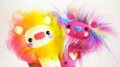 Colorful Lion Cubs by ~casscc on deviantART