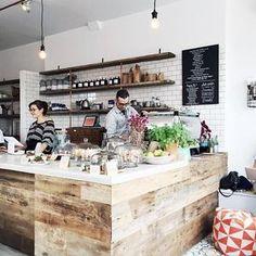 Cute coffee shop date in Bushwick. @catsinplicity @eslee @joannepio