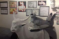 Trabalhos de alunos sobre os 80 anos de Guernica no Museu Anjos Teixeira   Revista Viva Sintra