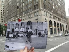 Photos from Popular Movie Scenes Held Up in Front of Real World Location elf-movie-scene-2