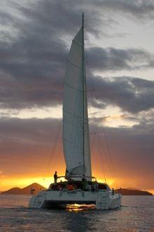 Scubadu, a Norseman 400 Catamaran