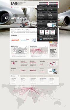 IAG Corporate Website 2012 2012 on Web Design Served