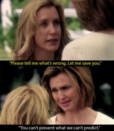 Desperate Housewives: When Lynette confronts Mary Alice in a dream, asking to save her. | 16 TV Moments That Helped People Through Their Depression