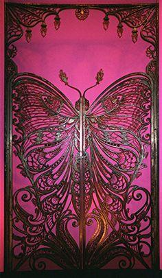Art Nouveau Butterfly Door, Brooklyn Museum of Art. Photo by Maure Briggs-Carrington.
