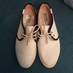 tan & black espadrilles Perfect condition! Worn once but too small:( they are very cute and go with everything! Soludos Shoes Espadrilles