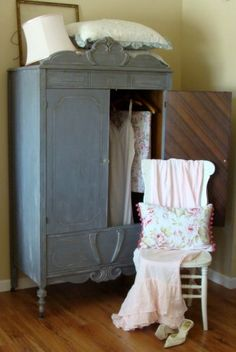 The Decorating Diaries: Old World / Shabby Chic Wardrobe