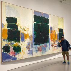 Joan Mitchell is always my favorite @hirshhorn #theenglishroomtravels #phillipsdodc #washingtondc #artlove #art #abstractexpressionism #abex