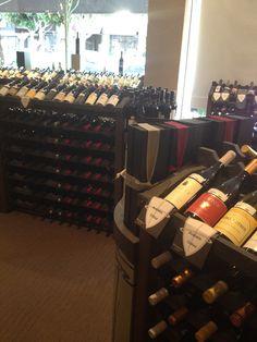 Plumpjack displays at wine shop in San Francisco