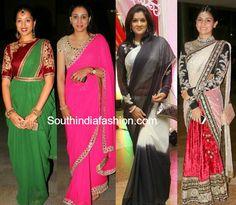 hyderabad celebrity sarees