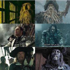 Before & After | Davy Jones | Salazar | Barbossa