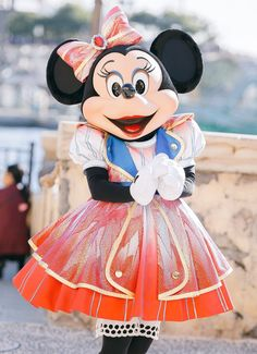 Minnie in her amazing outfit