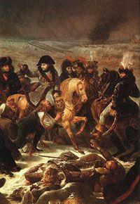 Наполеон в битве при Прейсиш-Эйлау