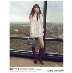 Fantasy Fashion Design: Freja Beha Erichsen y Jennifer Connelly presentan un adelanto de los diseños de Louis Vuitton primavera-verano 2015