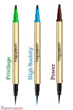 Napoleon Perdis x Slim Aarons Eyeliner Pens #beauty #makeup #bbloggers