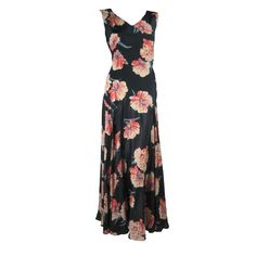 Late 1920's to Early 1930's Floral Gown