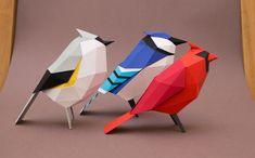 次の @Behance プロジェクトを見る : 「Aves de papel/ Paper birds」 https://www.behance.net/gallery/15068615/Aves-de-papel-Paper-birds