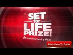 Enter to Win $7,000 A Week For Life From Publishers Clearing House!