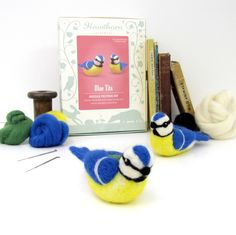 Joe's Toes - Bird Needle Felting Kit