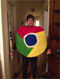 Google Chrome Browser Costume
