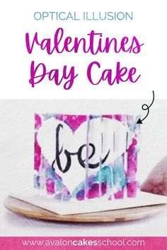 Looking for a new valentine's day cake design (or a very special galentine's day treat) to add to your bakery menu this year? Check out our optical illusion cake tutorial for intermediate and professional cake decorators and cake artists. In this cake decorating tutorial, you'll learn how to create an 8 sided optical illusion cake! When you turn this cake, it reveals an image at each corner. Avalon Cakes School has hundreds of cake tutorials, cookie tutorials, and cake decorating…
