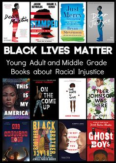 Intellectual Recreation: Black Lives Matter: Young Adult and Middle Grade B... Good Books, Books To Read, All American Boy, Young Adult Fiction, Books For Teens, Nonfiction Books, Social Justice, Book Lists, School Librarian