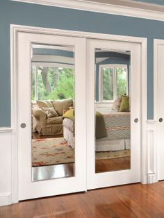 Stylishly Space-Saving Sliding Mirror Closet Doors | Home Decor ...