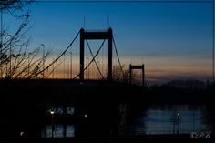Rhinbridge in Ruhrort by DerHerrB on 500px