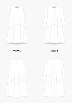GARMENT DETAILS The Farrow features an elegant A-line shape with flattering diagonal seaming concealing inseam pockets, and a jewel neckline. Imagine wearing Vi