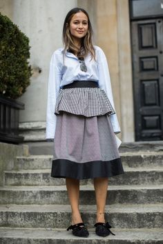 All the Must-See Street Style from London Fashion Week Spring2017