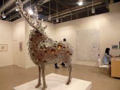 Art Basel N° 44 Kohei Nawa Pix-cell Deer on www.myFactory.net
