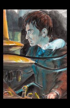 Allonsey Rat Doctor Who David Tennant by Drusilla on Etsy, $3.00