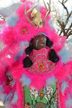 Black Indians at Mardi Gras