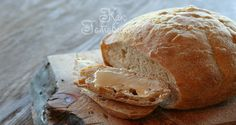 Пшенично-обдирный хлеб на смешанной опаре