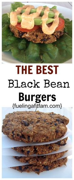 These are THE BEST Black Bean Burgers I have ever had! Easy, healthy and so delicious!