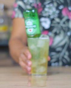Cozumel   Além da receita deliciosa tem edição incrível. Gostaram?  #bebidaliberada #cozumel #cerveja #drink #drinks #bartender #bartenders #coquetel