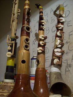 Bamboo saxophones