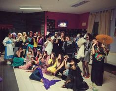 Carnival Party ! Craxy People,  Crazy Teacher,  Crazy Students!  Accademia Iris - Direct by Amira Perizad