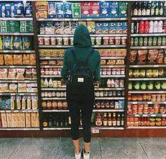 Fotos en el supermercado♡