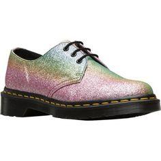 Women's Dr. Martens 1461 3-Eye Shoe Multi Glitter PU