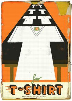 Paul Thurlby Illustration / T for T-shirt