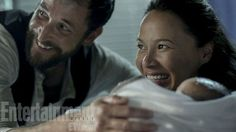 'Falling Skies': Moon Bloodgood discusses Tom and Anne's baby and her own real-life new bundle of joy -- EXCLUSIVE PHOTOS