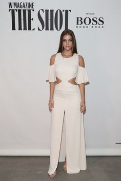 """Barbara Palvin Photos Photos - Barbara Palvin attends the W Magazine and Hugo Boss Celebrate """"The Shot"""" event at the International Center of Photography Museum on September 12, 2016 in New York City. - W Magazine and Hugo Boss Celebrate 'The Shot'"""