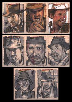 God, Still More Indy Cards by *AdamHughes on deviantART.