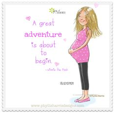 A great adventure is about to begin. ~ Winnie the Pooh. More beautiful motherhood quotes on Joy of Mom! https://www.facebook.com/joyofmom  #motherhoodquotes #adventures #pregnancy #joyofmom