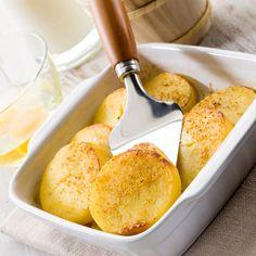 Heute stehen die Gnocchi alla Romana in fast jeder römischen Osteria auf der Speisekarte. Probieren Sie die gratinierten Griesschnitten unbedingt aus!