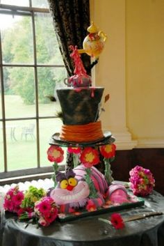 Amazing Mad Hatter Cake!