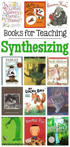Great Books and Mentor Texts for Teaching Synthesizing