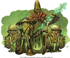 Myconid - The Forgotten Realms Wiki - Books, races, classes, and more