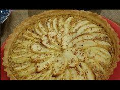 Tarta de manzanas francesa - YouTube